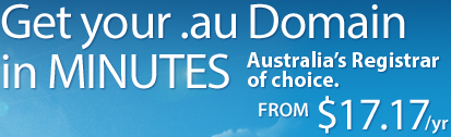 Register your .au Domain name in minutes with Domain registry Australia
